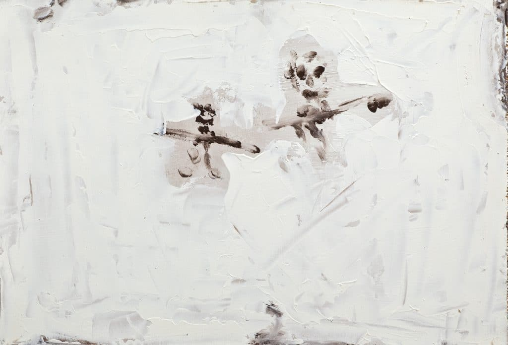 Two figures in white